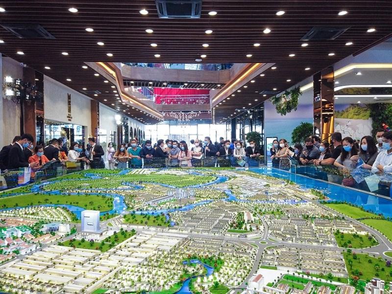 mô hình tổng thể aqua city