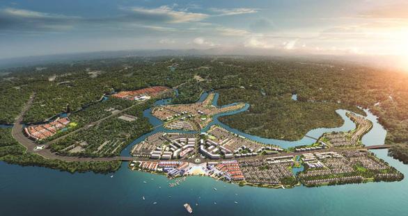 phối cảnh hình dự án aqua city