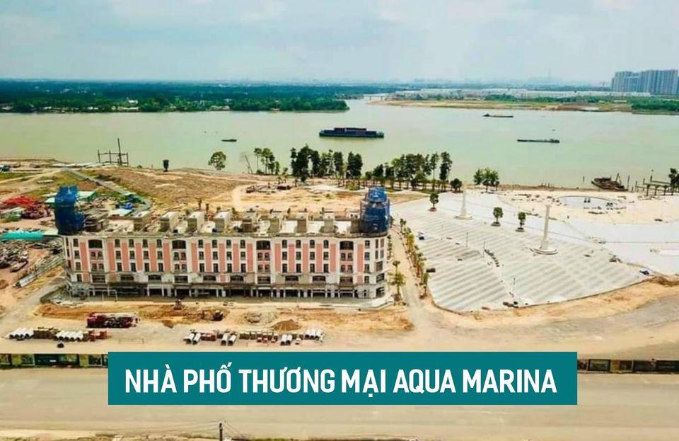 nhà phố thương mại Aqua Marina