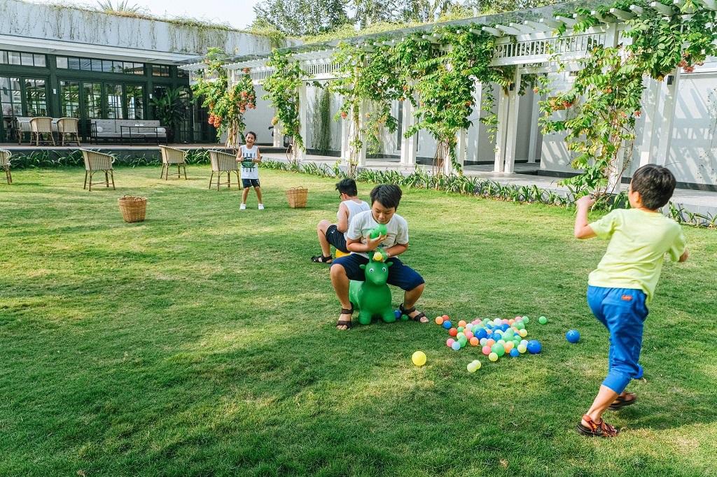 Khu vui chơi tại sàn giao dịch Aqua City Đồng Nai