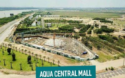 tiến độ Aqua Central Mall Aqua City