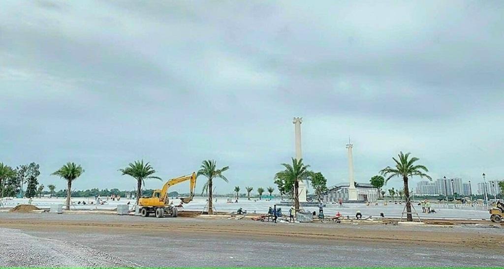 tiến độ Quảng trường Aqua Marina