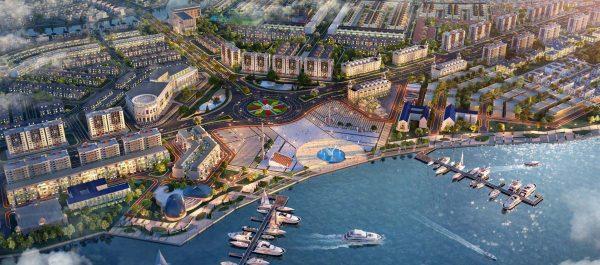 quảng trường Aqua Marina Aqua City