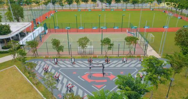 sân bóng aqua sport complex